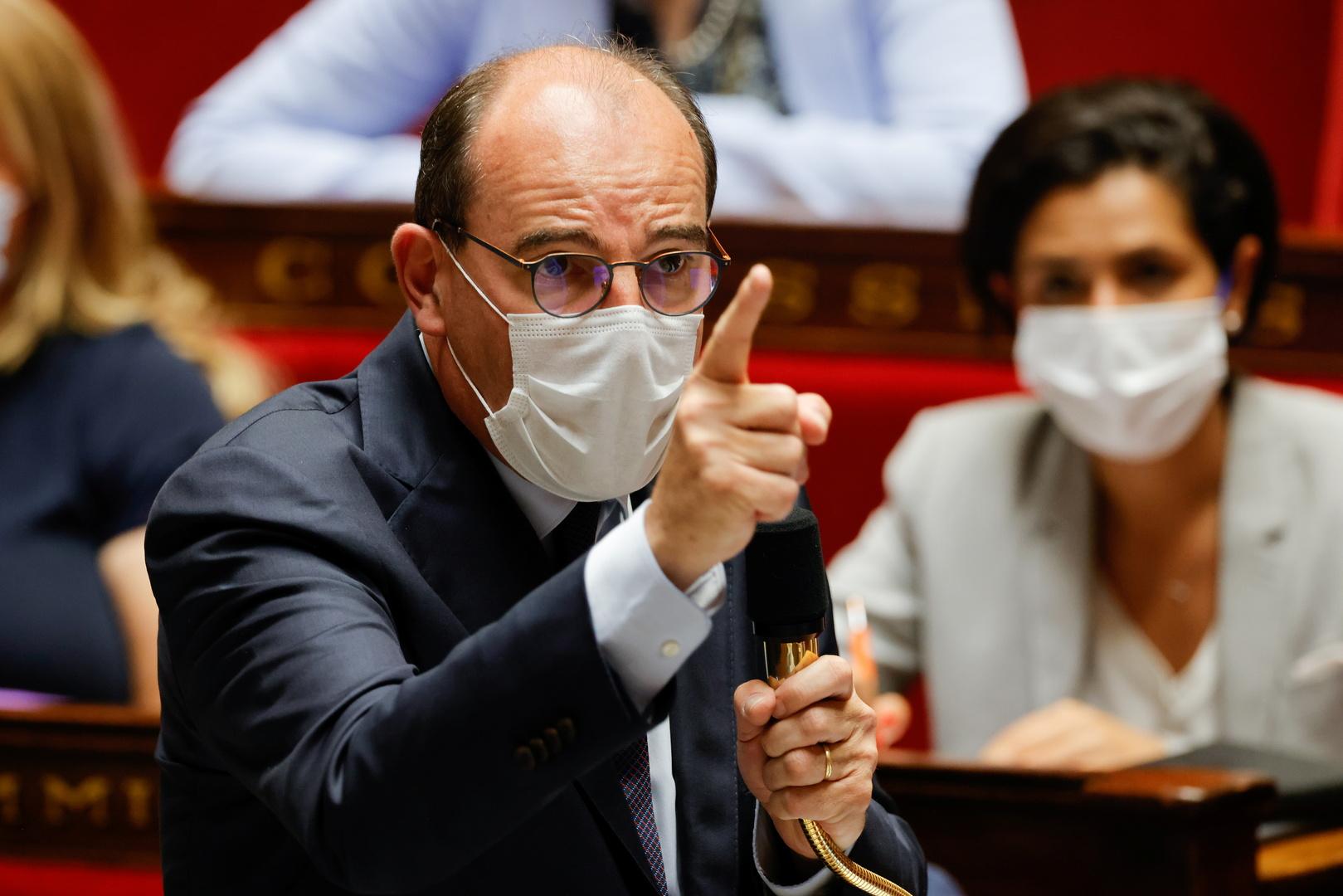 جان كاستيكس رئيس الوزراء الفرنسي