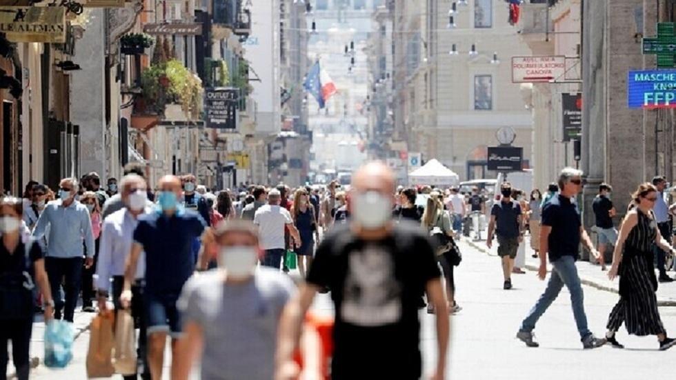 إيطاليا تسجل ارتفاعا جديدا في وفيات وإصابات كورونا