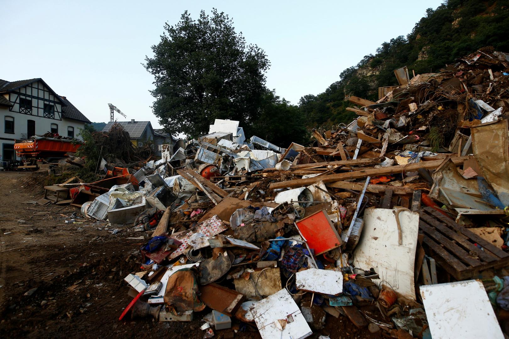 خسائر الفيضانات في ألمانيا تقدر بـ5 مليارات يورو
