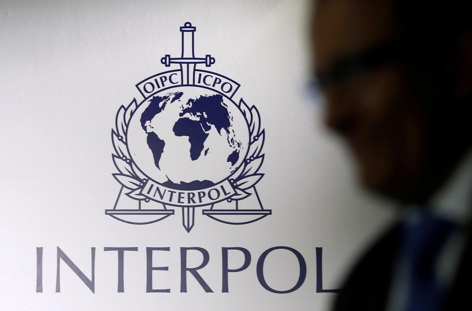شعار الانتربول الدولي