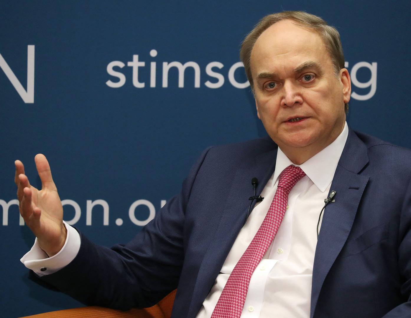 السفير أنطونوف: روسيا لا تستخدم