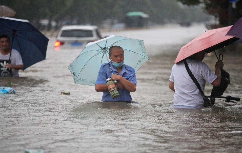 الصـين تشـهد نزول أمطار هي الأشد منـذ 1000 عام