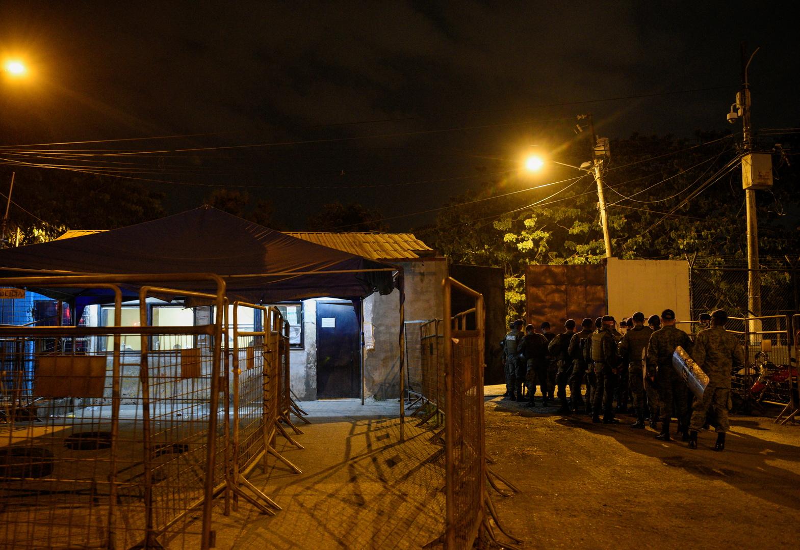 8 قتلى و20 جريحا في أعمال شغب في سجنين بالاكوادور