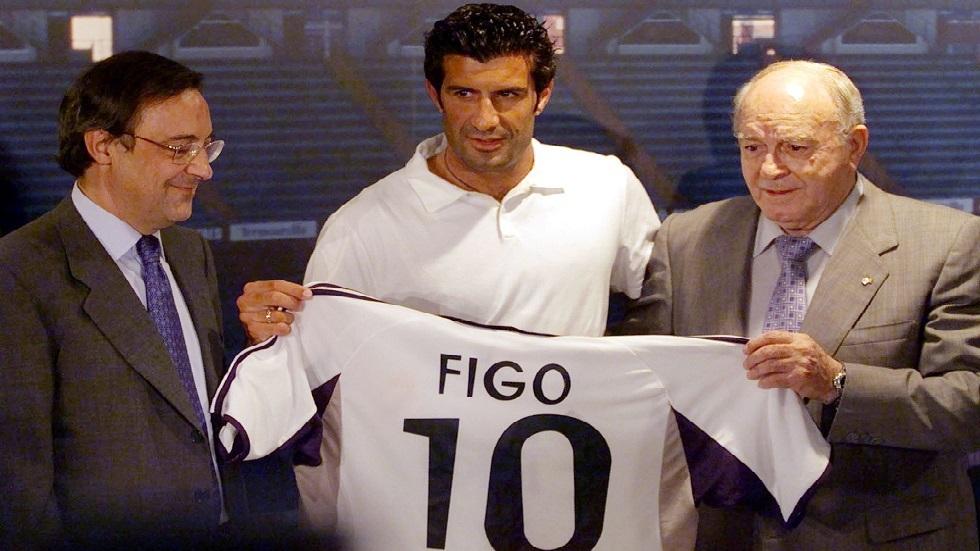 فيغو: رئيس ريال مدريد اعتذر لي بعد التسريبات الأخيرة