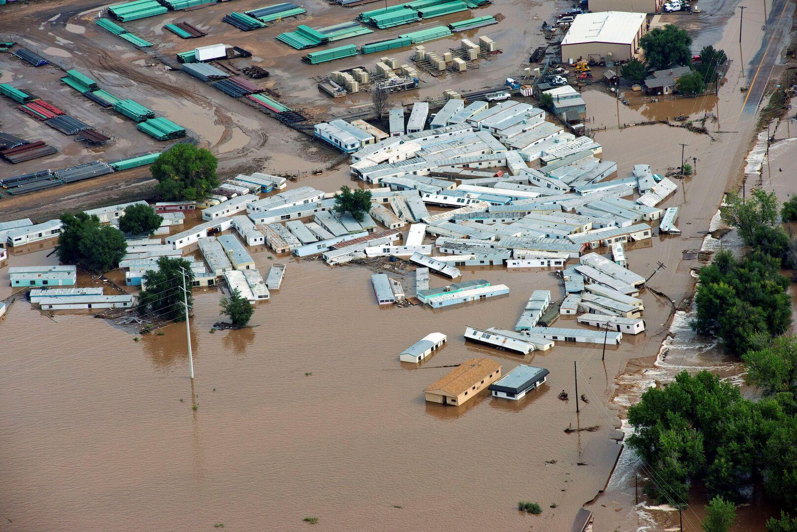 الولايات المتحدة.. مقتل شخص وفقدان إثنين آخرين في فيضانات كولورادو