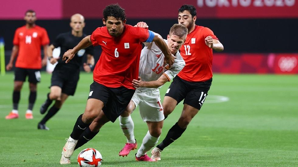 الأولمبي المصري يفرض التعادل على نظيره الإسباني في أولمبياد طوكيو
