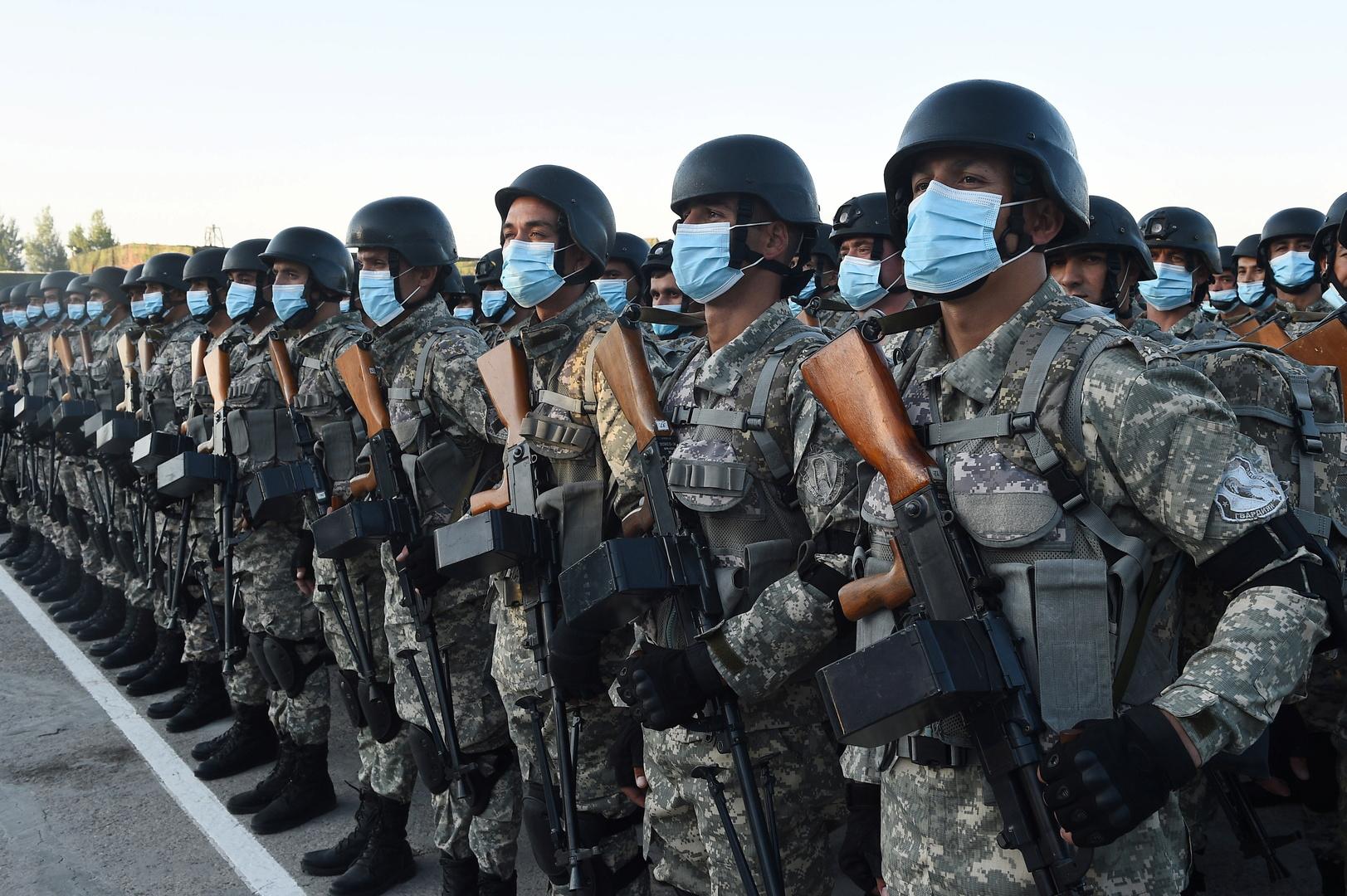 طاجيكستان تجري مناورة قتالية هي الأولى من نوعها