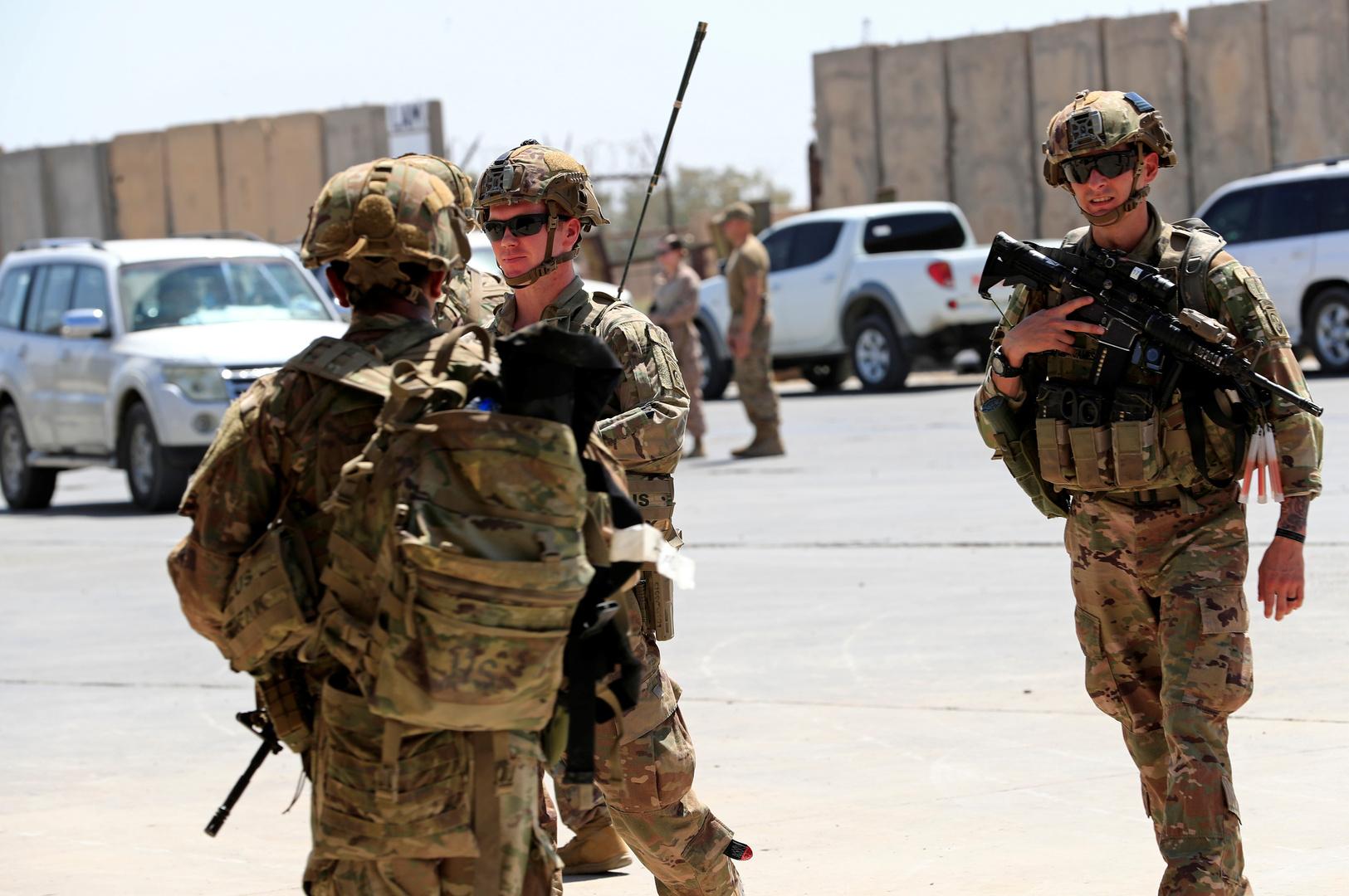 صحيفة: واشنطن وبغداد تخططان للإعلان عن انسحاب القوات الأمريكية مع نهاية 2021