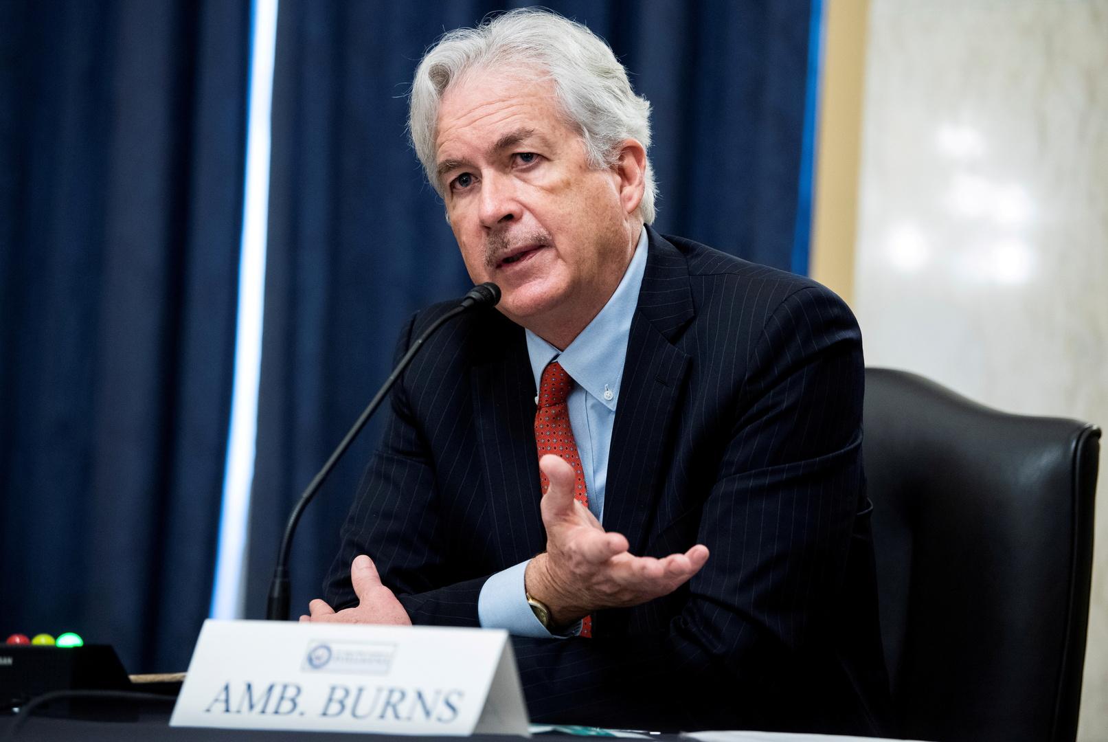 مدير وكالة الاستخبارات المركزية (CIA) الأمريكية ويليام بيرنز