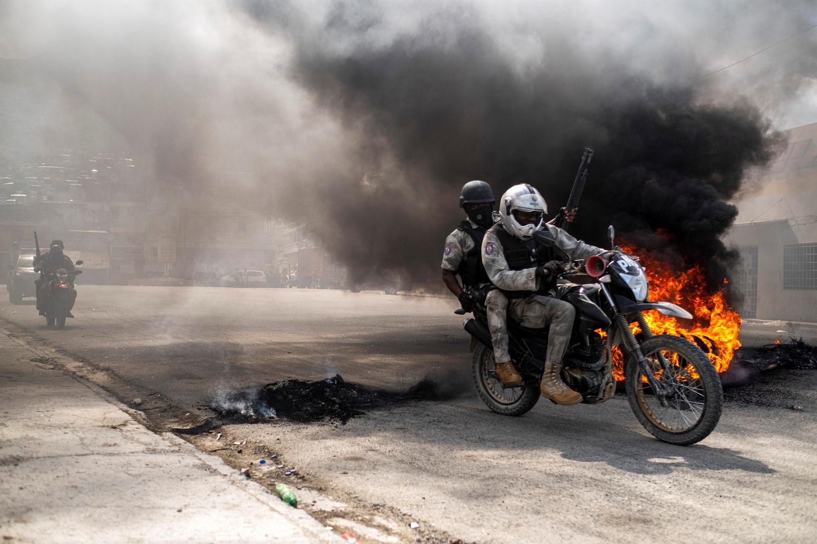 هايتي تلغي مراسم وداع الرئيس المقتول بسبب الاحتجاجات وأعمال الشغب
