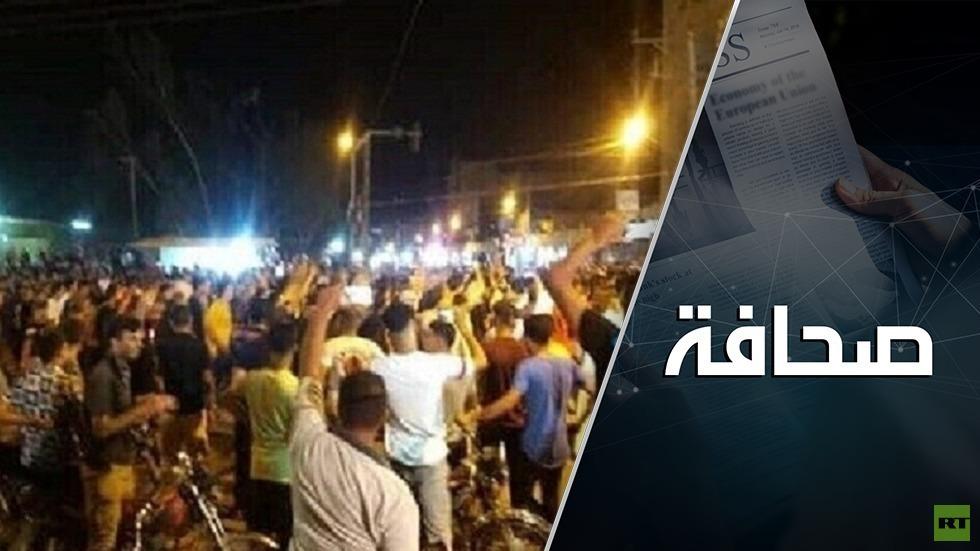 الاحتجاجات الشعبية تضع القيادة الإيرانية بين فكي كماشة