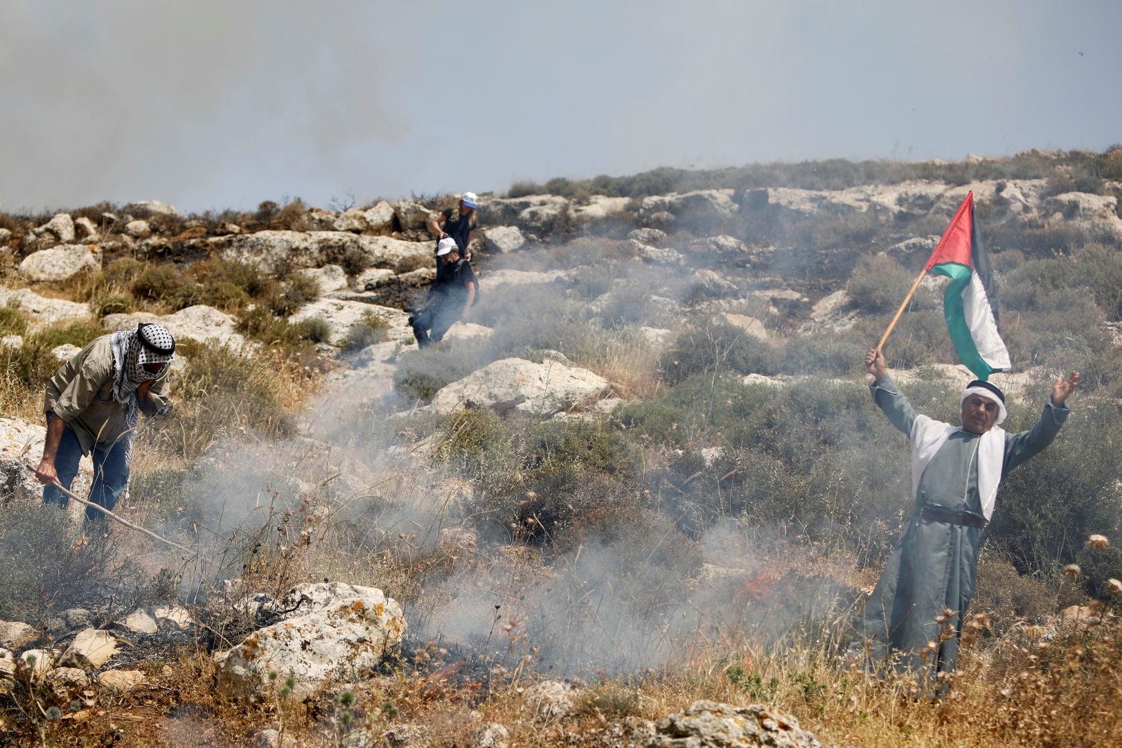 مواجهات في نابلس وإصابات برصاص الجيش الإسرائيلي