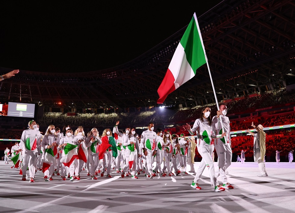 بالصور.. حفل افتتاح أولمبياد