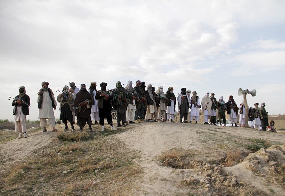 مقاتلون من حركة طالبان الأفغانية