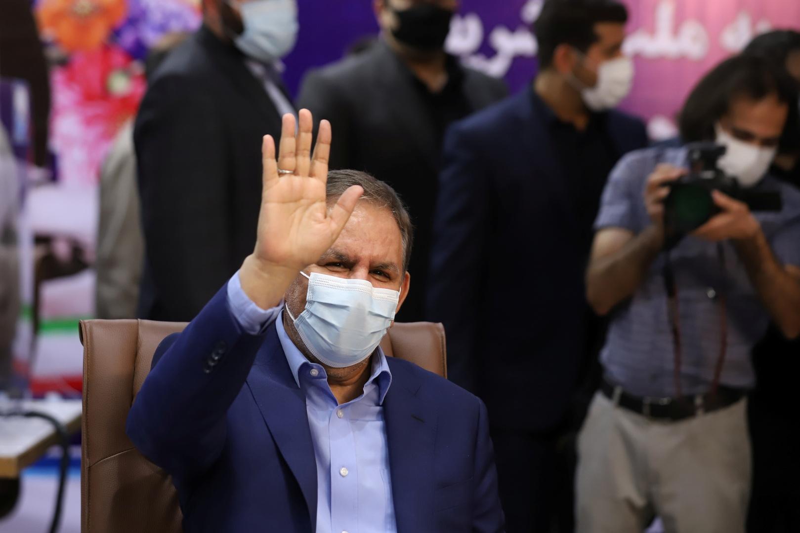 نائب رئيس إيران، إسحاق جهانغيري.