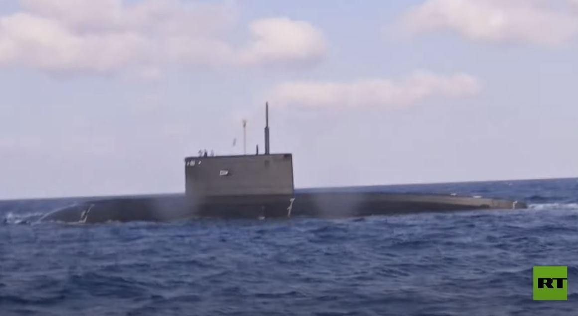 تدريبات في طرطوس استعدادا لعيد البحرية الروسية
