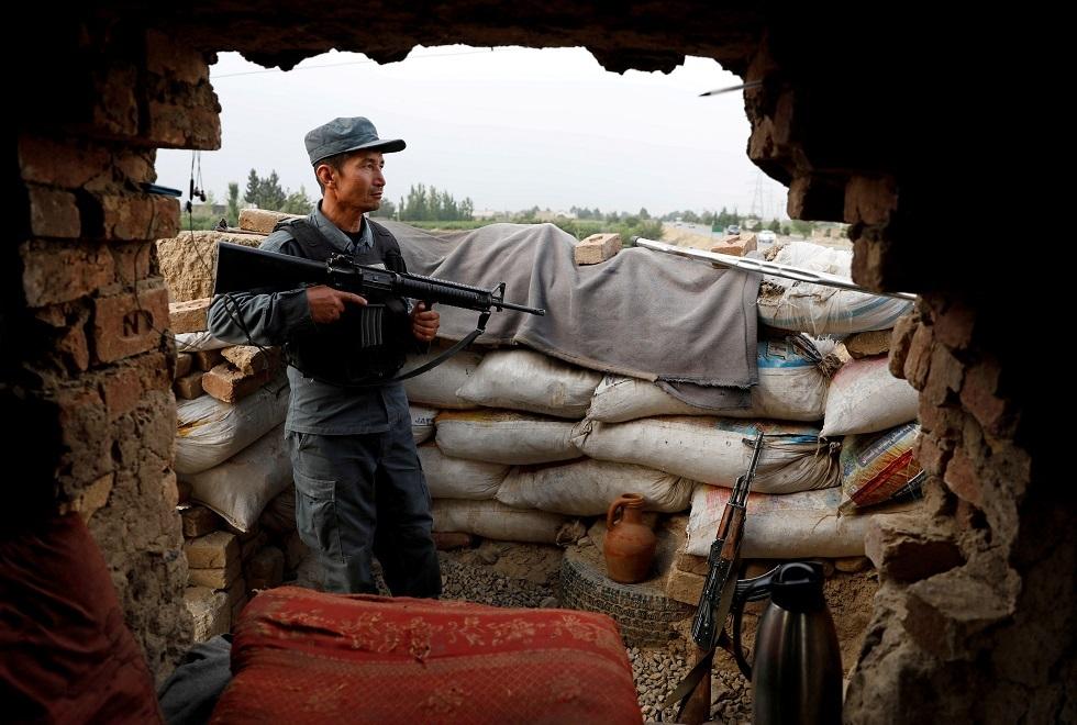 شرطي أفغاني صورة تعبيرية