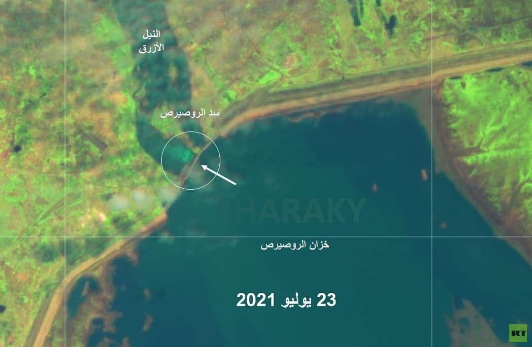 صورة بالأقمار الصناعية تكشف عن استعدادات السودان للفيضانات بعد إعلان الطوارئ