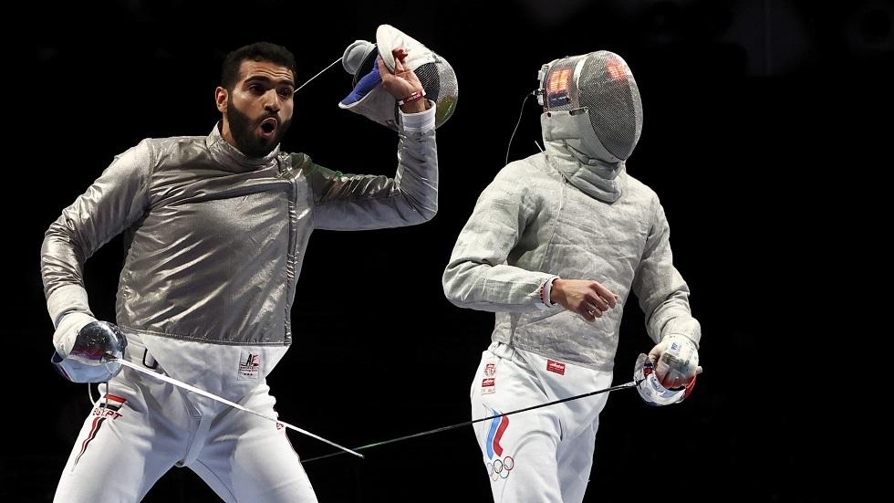 المصري السيسي يهزم الروسي ريشيتنيكوف في أولمبياد طوكيو