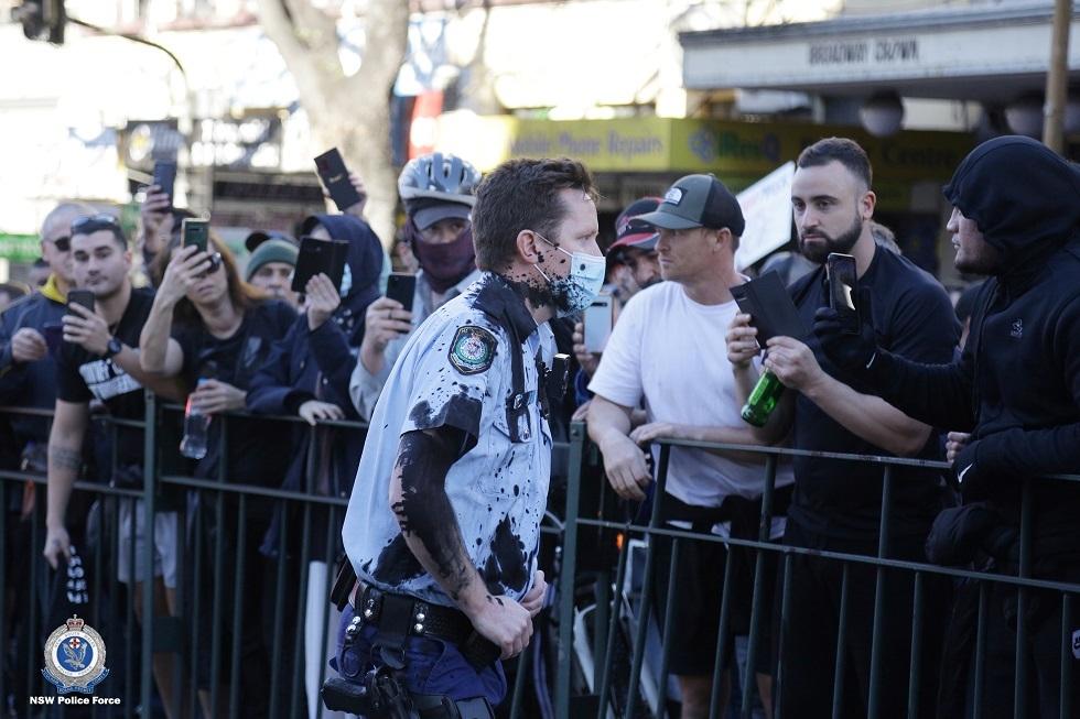 أستراليا.. مظاهرات حاشدة بسبب اجراءات الحجر