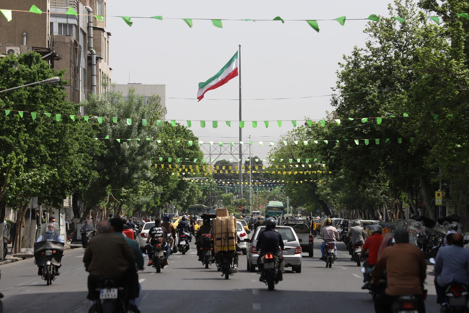 شارع في العاصمة الإيرانية طهران
