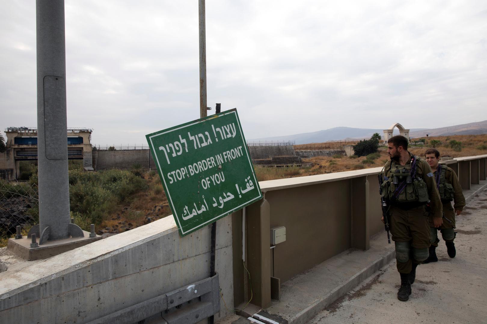 الجيش الإسرائيلي يعلن عن عملية تسلل من الحدود الأردنية