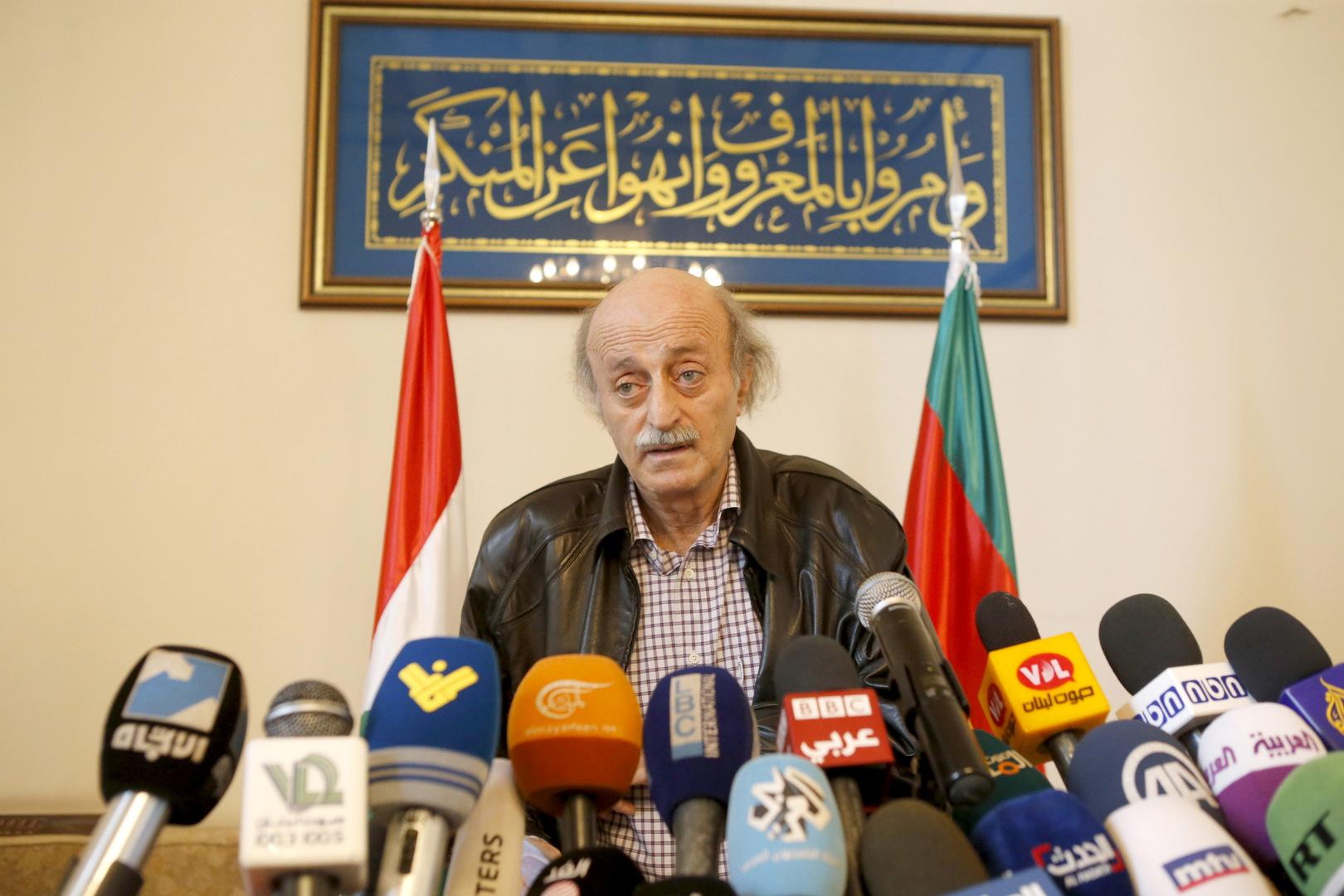 جنبلاط يعلق على أزمة الوقود في لبنان ويربطها بمافيا