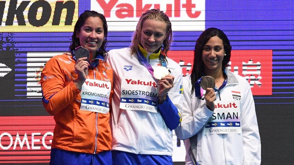 فريدة عثمان والقماش يخيبان الآمال في أولمبياد طوكيو