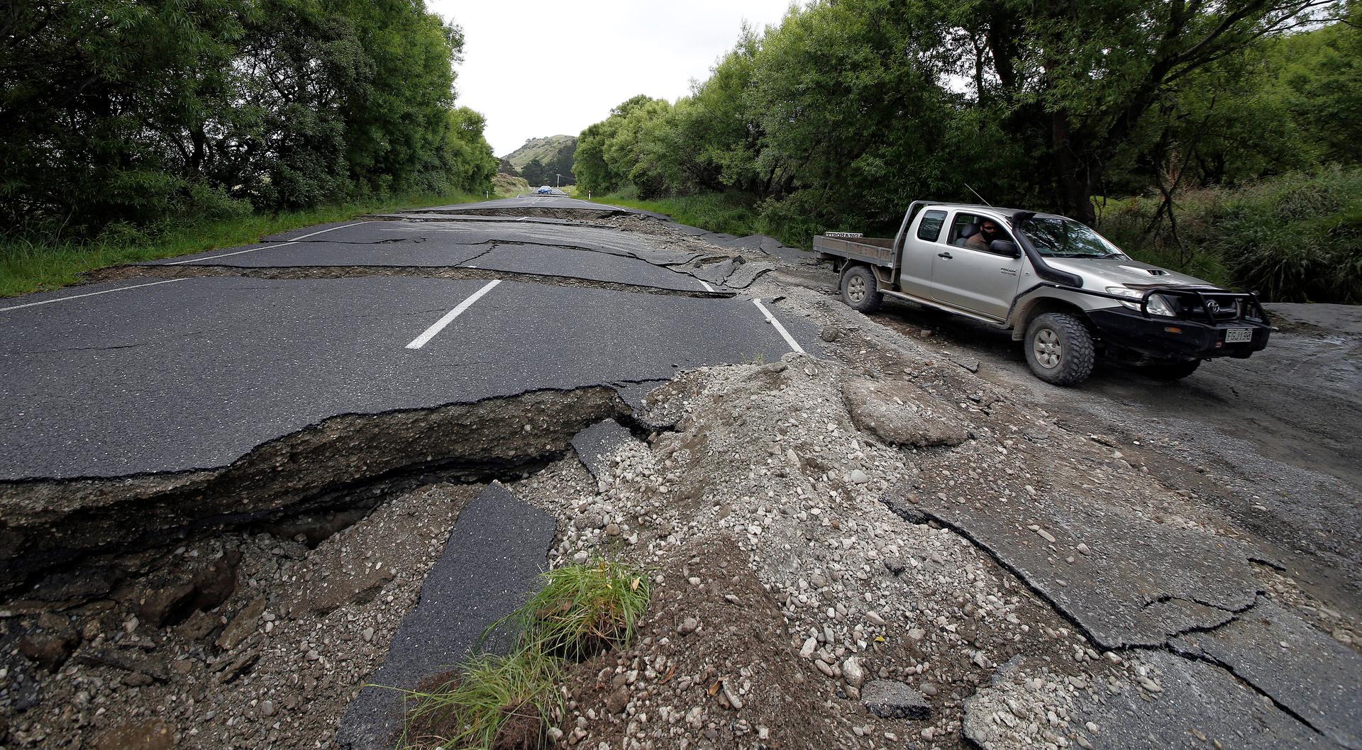 زلزال بقوة 6,1 درجة في المحيط الهادئ