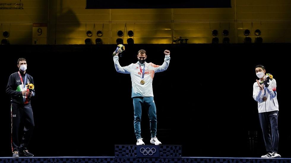 سيلادي يهدي أول ذهبية لهنغاريا في أولمبياد