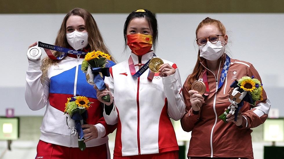 حصيلة ميداليات اليوم الأول لأولمبياد