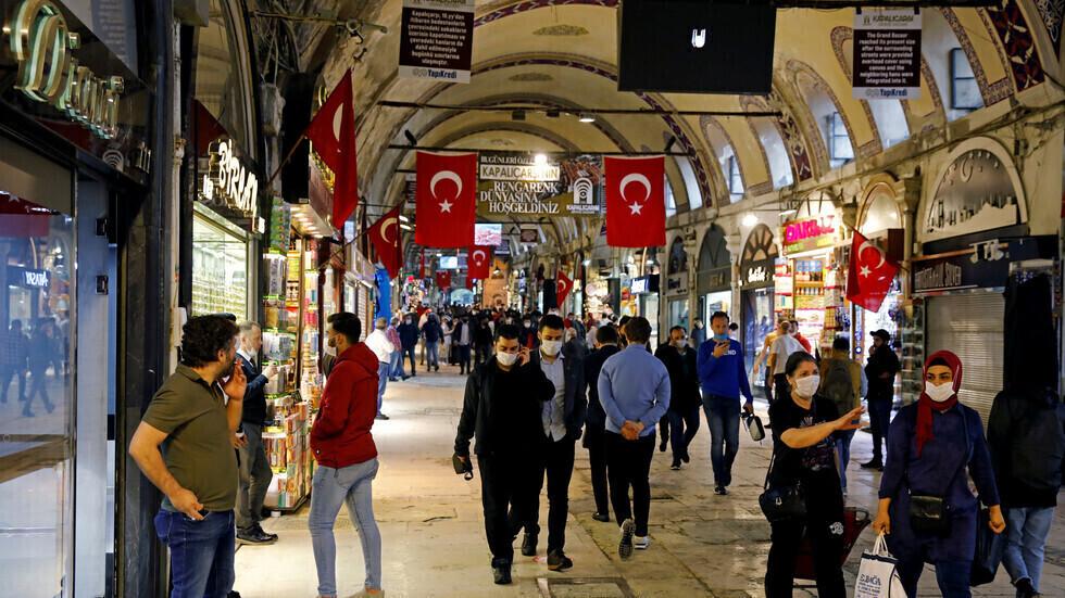 البازار الكبير في اسطنبول.
