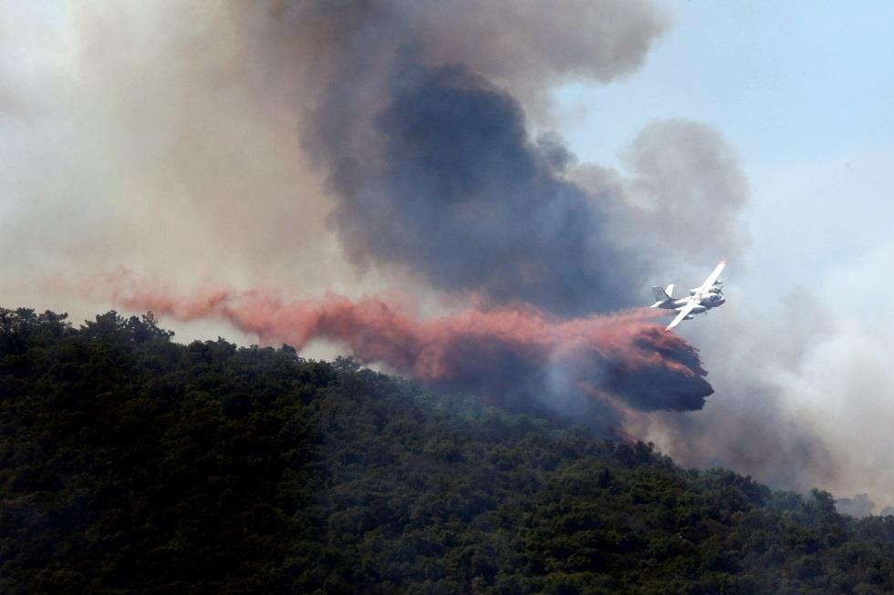 فرنسا.. إجلاء نحو 100 شخص بسبب حريق ضخم جنوب البلاد