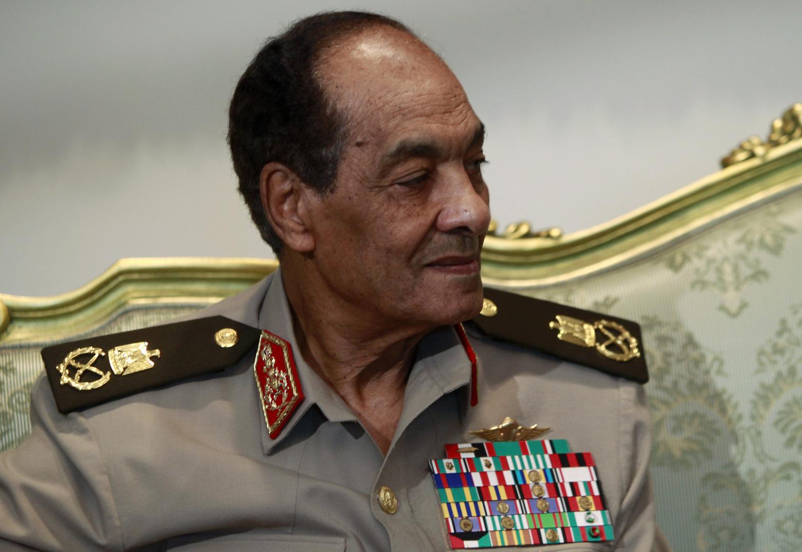 القائد العام السابق للقوات المسلحة في مصر، المشير حسين طنطاوي.