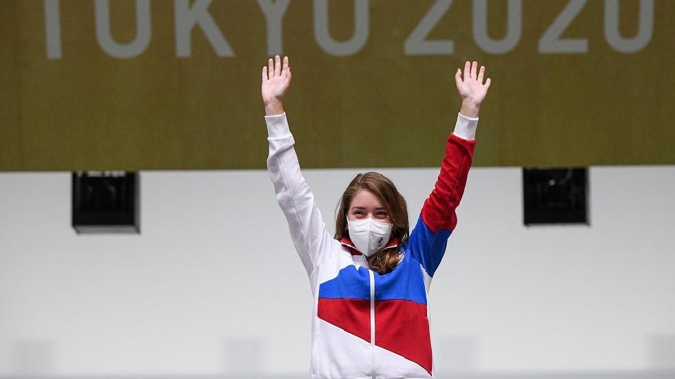 باتساراشكينا تمنح روسيا أول ميدالية ذهبية في أولمبياد طوكيو