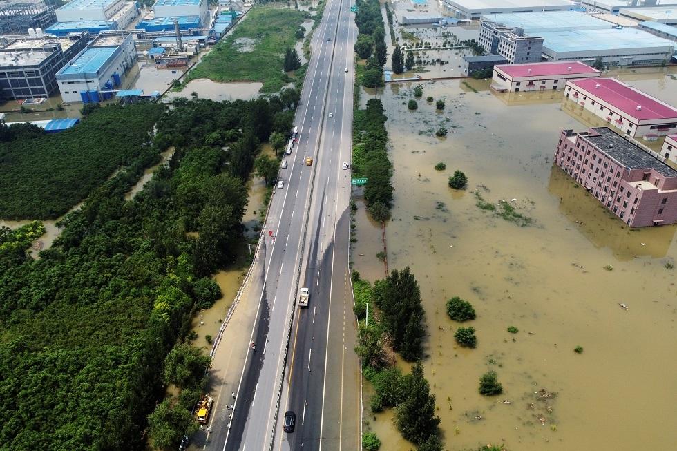 إعصار يتجه نحو شنغهاي الصينية