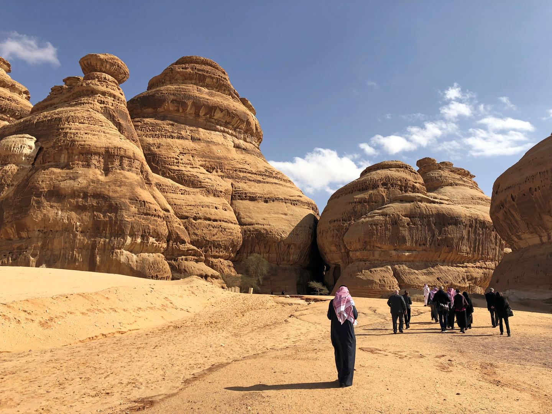 موقع آثار مدائن صالح بالعلا بالسعودية