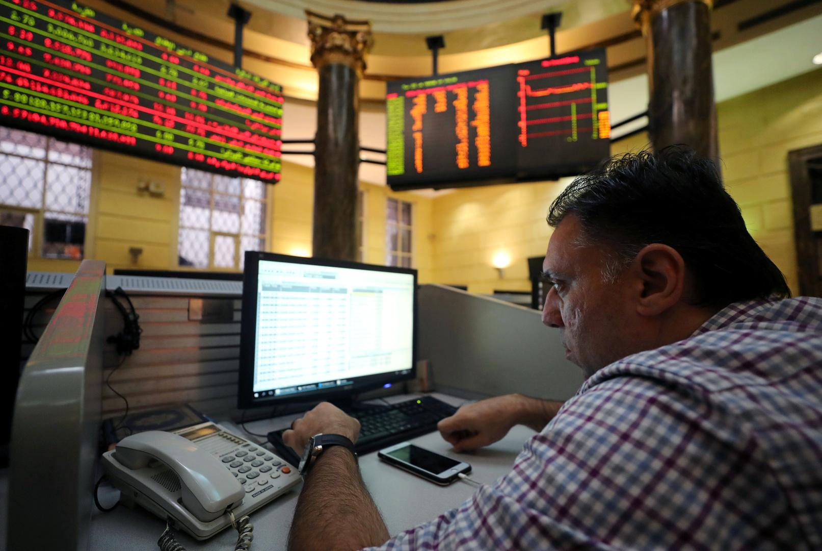 البورصة المصرية تربح 7.5 مليار جنيه في نصف ساعة