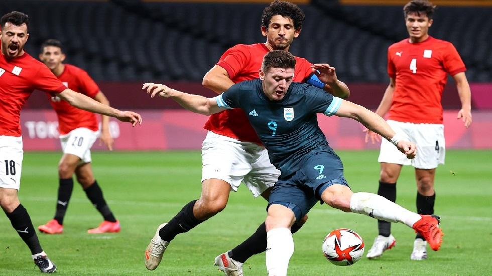 أولمبياد طوكيو.. الأرجنتين تهزم مصر في مسابقة كرة القدم