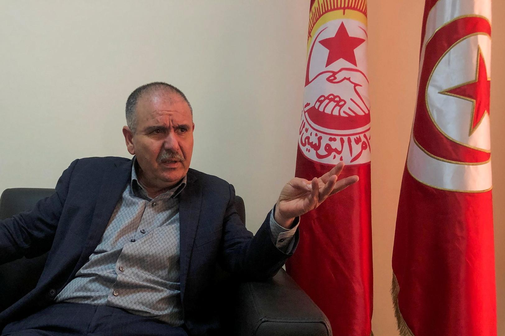 اتحاد الشغل التونسي: مؤسسات الدولة تفككت والمنظومة الحاكمة انتهى توقيتها