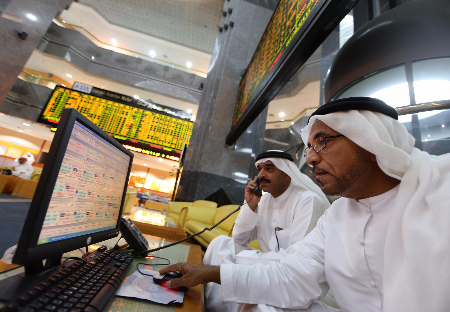 مكاسب لمعظم بورصات الخليج وبورصة أبوظبي تسجل مستوى قياسيا مرتفعا