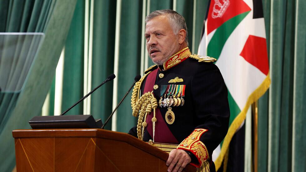 العاهل الأردني: تعرضنا لهجوم بطائرات مسيرة تحمل تواقيع إيرانية