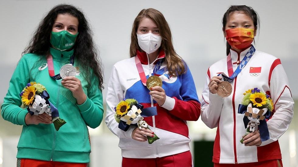 بوتين يهنئ صاحبة الميدالية الذهبية الأولى للمنتخب الروسي في أولمبياد طوكيو