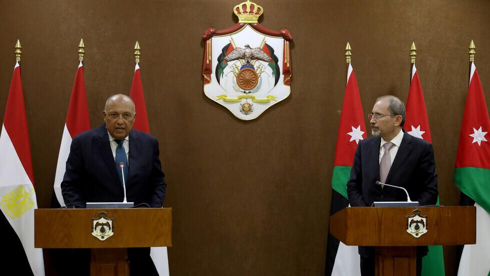 محادثات بين وزيري خارجية مصر والأردن في القاهرة الاثنين