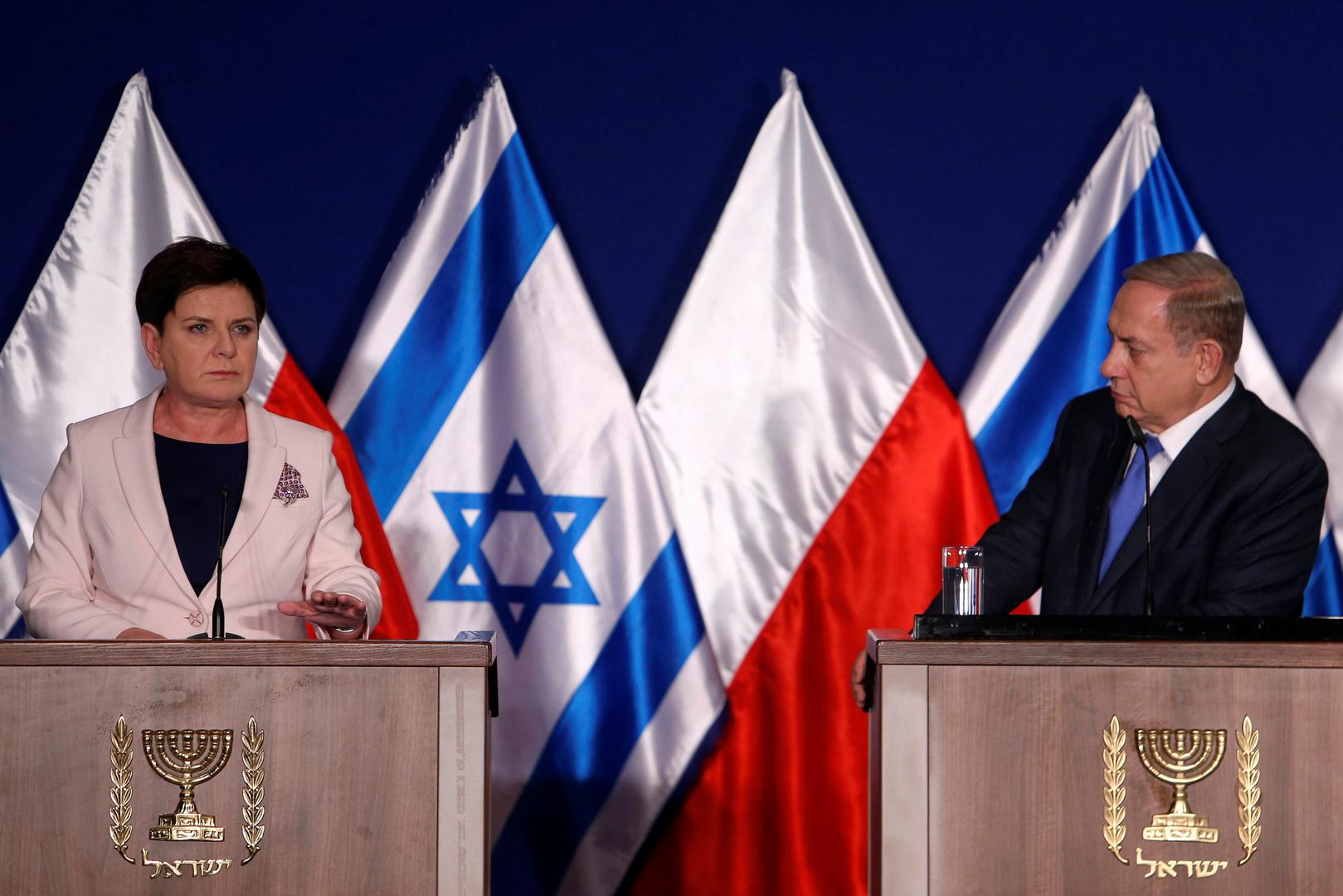 العلاقات الإسرائيلية البولندية قد