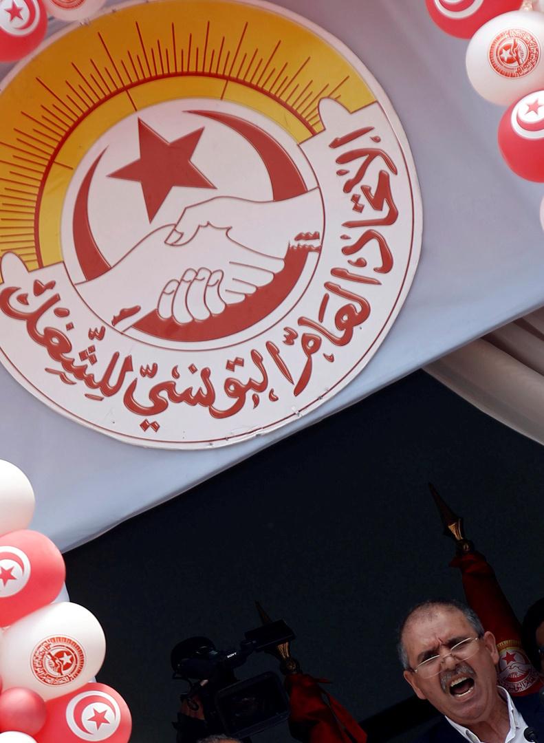 الاتحاد العام التونسي للشغل يدعو إلى ضمانات دستورية مرافقة لقرارات رئيس الدولة
