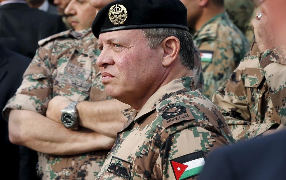 ملك الأردن يبدي