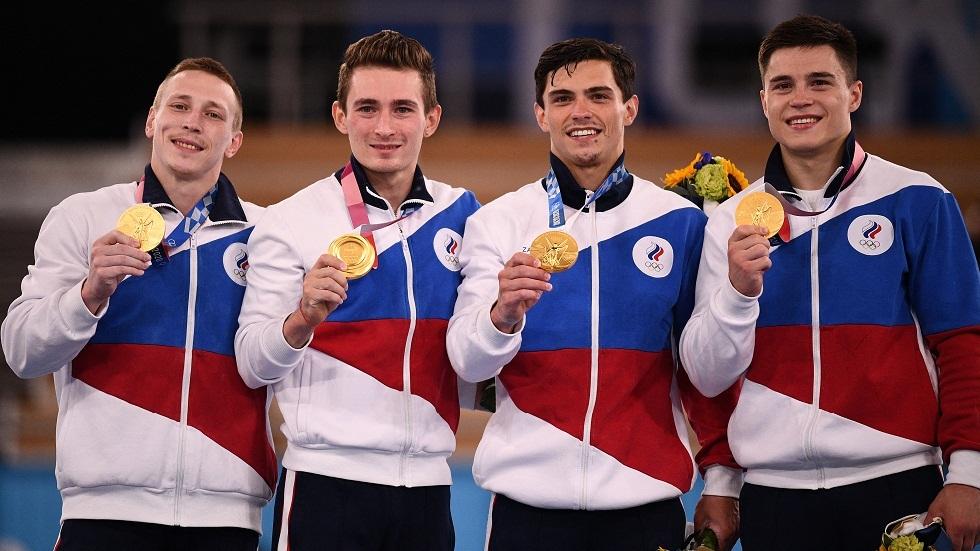 روسيا تحرز ذهبية الجمباز لفرق الرجال في الأولمبياد للمرة الأولى منذ عام 1996
