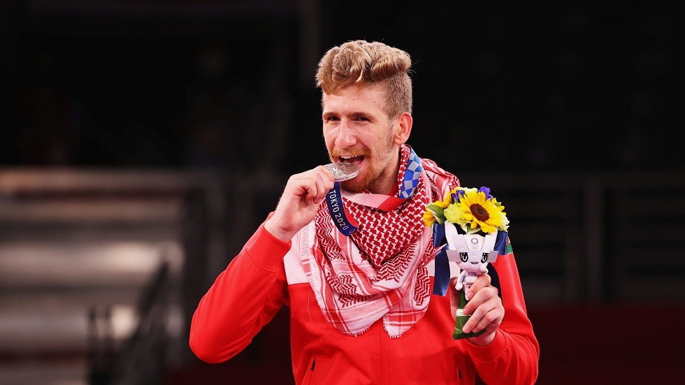 الأردن يتوج بأول ميدالية في أولمبياد طوكيو