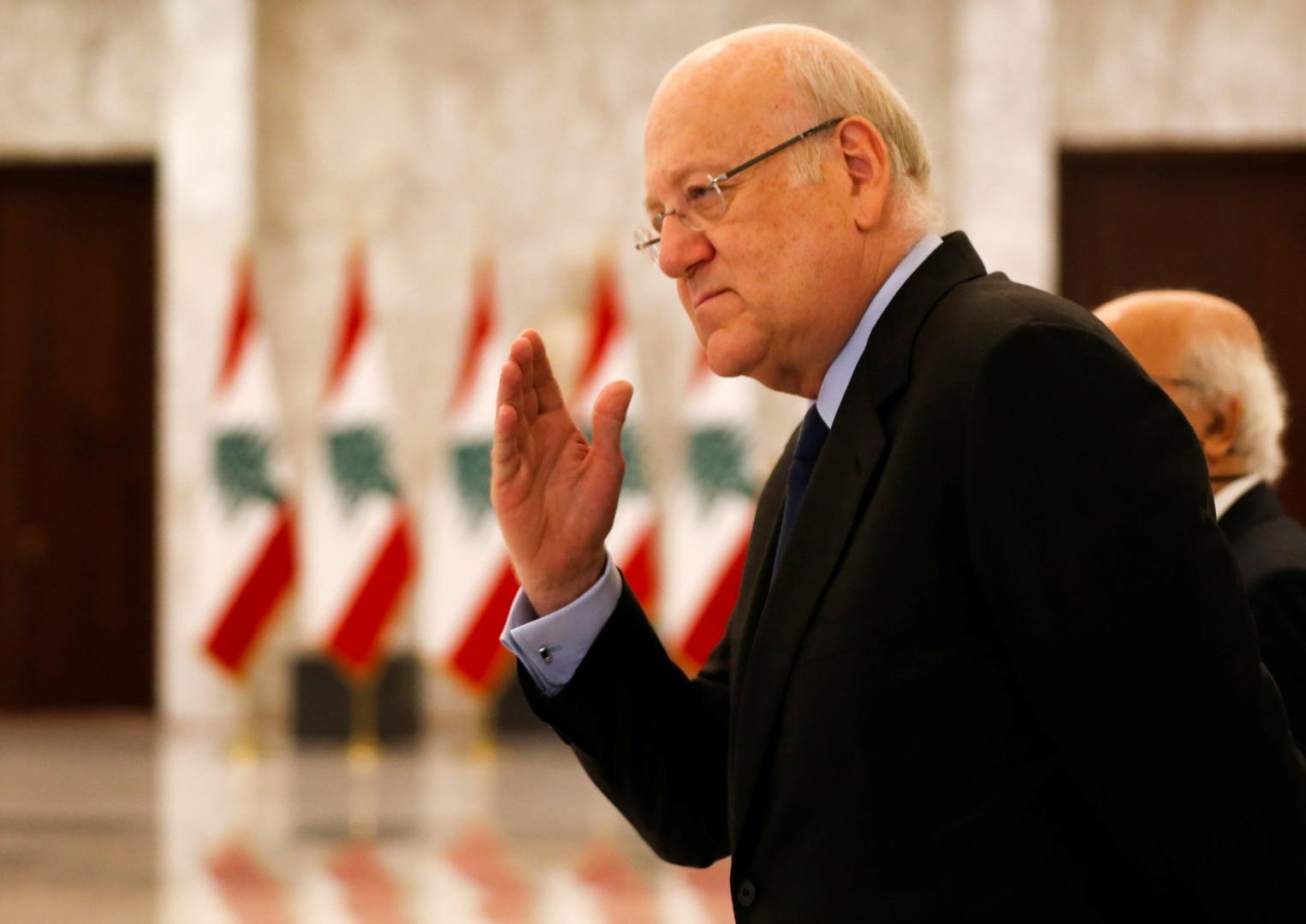 ميقاتي: خيارنا عربي ولا نريد أن يكون لبنان ممرا للتآمر على أي دولة عربية